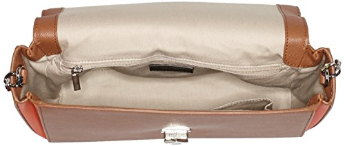Hugo Merina 10188035 01, Borse a Tracolla Donna, Taglia Unica Marrone (light/pastel Brown)