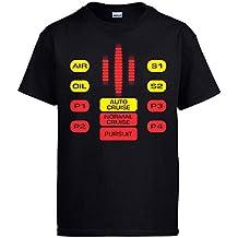 Camiseta El Coche Fantástico mandos botones