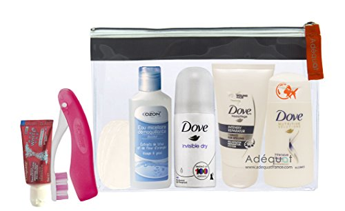 trousse de toilette avion femme/trousse superior