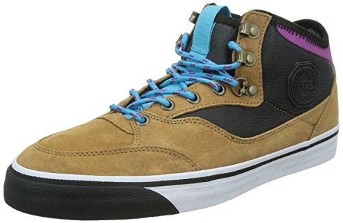 Vans M Buffalo Mte, Chaussures en Forme de Bottines Homme Marrón