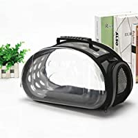 Animatey Small Transparent Pets Bag Fashion Small Pets Outdoor Bag Kittens & Puppies Bag