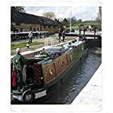 Photo Mug of Canal, village and Waterways Museum, Stoke Bruerne, Grand Union Canal