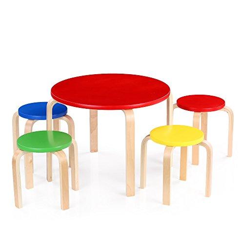 Opiniones ikayaa juego de muebles infantil de madera de for Muebles 1 click opiniones