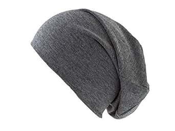 Shenky - Bonnet en jersey - unisexe - gris foncé