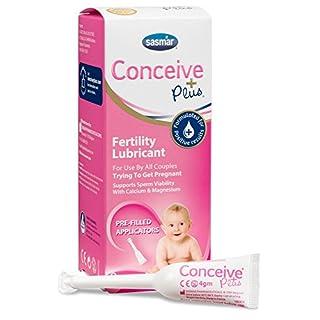 SASMAR® Conceive Plus Fertilitätsgleitmittel 8 vorgefüllten Applikatoren bei Kinderwunsch