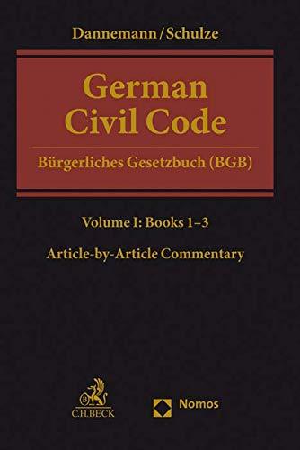 German Civil Code: Bürgerliches Gesetzbuch (BGB)