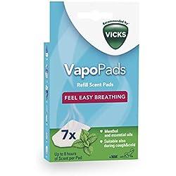 VapoPads Menthol - Tablettes parfumées aux huiles essentielles (VH7)
