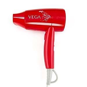 Vega VHDH-08 Glam Hair Dryer (Red)