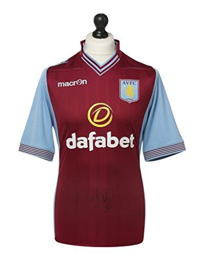 Christian-Benteke-Signed-Aston-Villa-Shirt-Autograph-Jersey-Memorabilia-COA