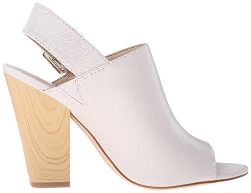 Nine West Womens Orlanda Leather Dress Pump Off-white Leather