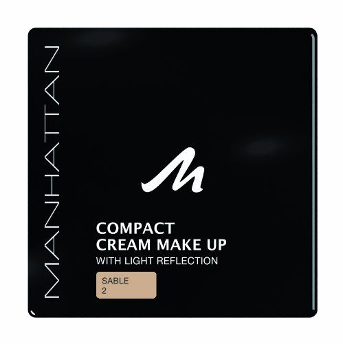 Manhattan 18211 Compact Cream Makeup, sable