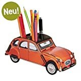 "Werkhaus - Stiftebox ""2CV Ente"" in Orange (WE2047)"