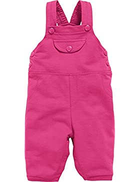 Schnizler Unisex Baby Sweat-Latzhose, Babyhose, Oeko-Tex Standard 100