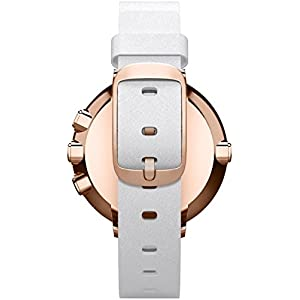 Pebble 601-00047 14 mm Time Round Smartwatch - Rose/Gold