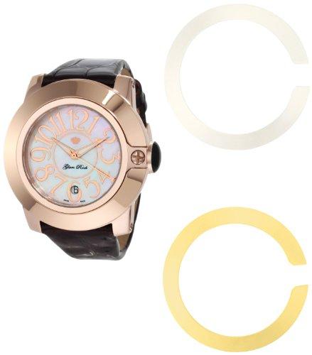 Glam Rock - 0.96.2249 - Montre Mixte - Quartz Analogique - Bracelet Cuir Marron