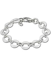 00b1ad827462 Amello Ringe Armband silber weiß Damen Schmuck Edelstahl Keramik ESAX02W