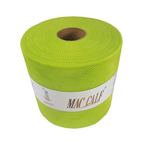 Mac calf tulle verde chiaro h12,5 metri 100