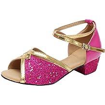 Zapatos de Fiesta de Tango Latino Tacon para Niñas Primavera Verano 2019  PAOLIAN Calzado Bailarina Princesa b30dbeafcda6