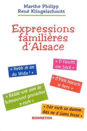 Expressions familières d'Alsace