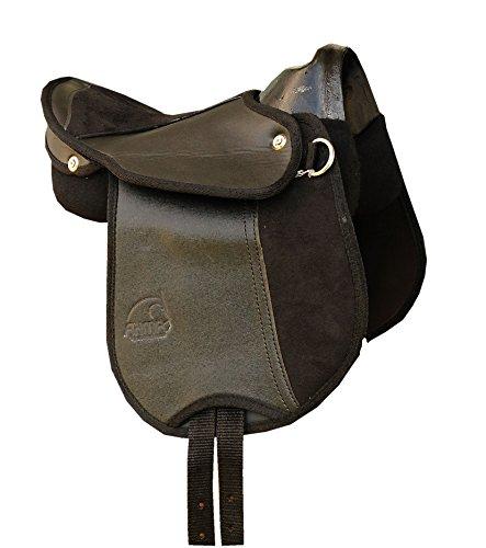 Caballo de montar caballo de silla de montar con asa, colour negro...