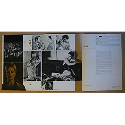 Dossier de presse de La Main (1969) – Film de Henri Glaeser avec Nathalie Delon, Michel Duchaussoy, Henri Serre, Pierre Dux, – Photos N&B + couleurs – résumé du scénario + fiche technique – Bon état.