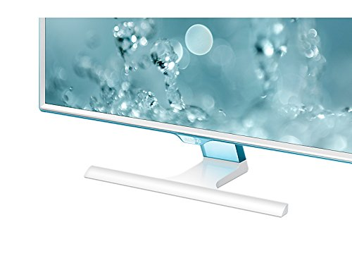Samsung 27 inch (68.5 cm) LED Monitor - Full HD, Slim Bezel AH-IPS Panel with VGA, HDMI Ports and Touch of Color Technology - LS27E360HSXL (White)