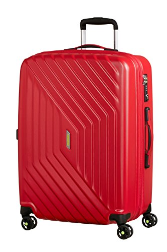 American Tourister - Air Force 1 Spinner 66/28 Extensible 69/81L - 3.6 KG, Rouge (Flame Red)