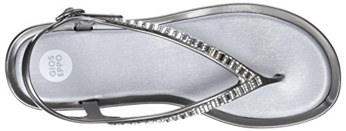 Gioseppo 44454, Sandales Bout Ouvert Femme Argent (Silver)