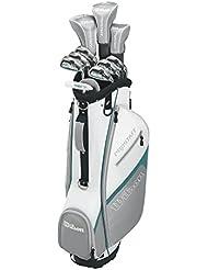 Wilson Pro Staff HDX - Palos de golf, color negro, talla Pro Staff 3,5,5,6-S,P,B,LD, set 14 piezas