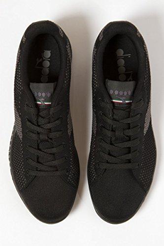 Diadora Herren Game Weave Sneakers Schwarz (Nero)