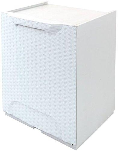 ARD Plast Müllcontainer, weiß, R34/1FRW/S