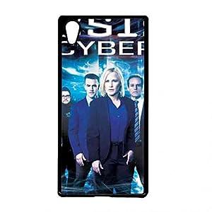 CSI Cyber Sony Xperia Z3plus Case, CSI: Cyber Logo Phone Shell Back Cover,Pc Hard Shell Skin Cover Case R0W3TD