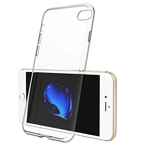 "VComp-Shop® Ultra dünne Silikon Handy Schutzhülle für Apple iPhone 7 4.7"" + Mini Eingabestift - TRANSPARENT TRANSPARENT + Mini Eingabestift"