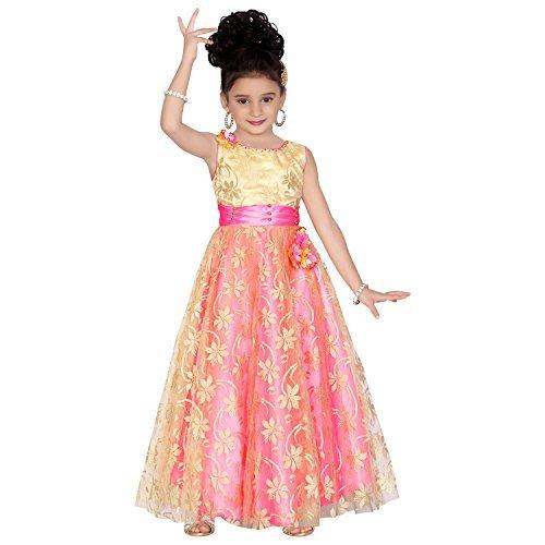 2f3290a576 Wish Karo Party wear Girls Long Frock gown Dress DNLF807 — pranzon