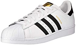 adidas Unisex Adult Superstar Low-Top Sneakers, White (Ftwr White/Core Black/Ftwr White), 4 UK (36 2/3 EU)