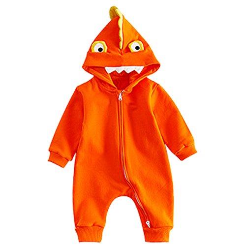Bebone Baby Halloween Kostüm Jungen Mädchen Overall (12 Monate, (12 Für Monate Halloween Babys Kostüme)