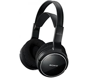 Sony MDR-RF810 Rechargeable wireless headphones with 100m listening range