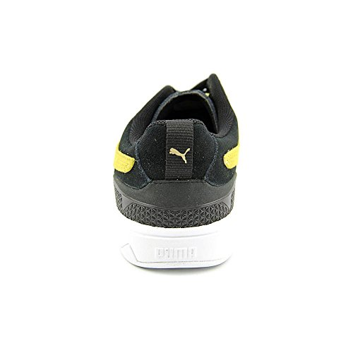 Puma Future Suede Lo 2.0 Daim Baskets Black-Sunshine