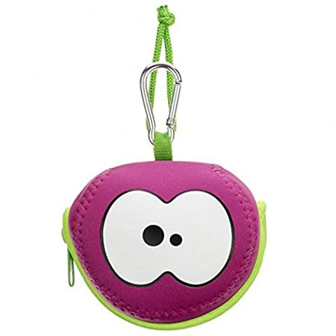 Hot Pink Apple Bag by FRUITFRIENDS. Protect your fruit. Colourful neoprene case. Machine Washable