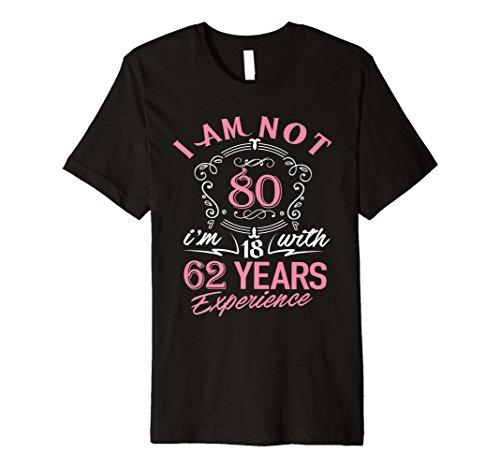 80. Geburtstag Geschenk T-Shirt Ich bin nicht 80Jahre alt Bday Shirt
