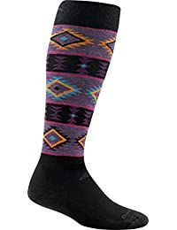 Black Medium Darn Tough Taos Light Socks WomenS