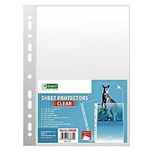 D.RECT Lot de 100 pochettes transparentes 55 microns