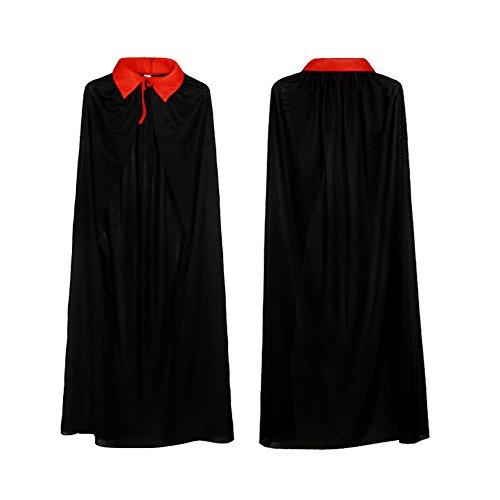 ppel-Vampir Dracula-Umhang Umhang für Halloween-Kostüm-Kleid Umkehrbar (Blue Reversible Kostüme)