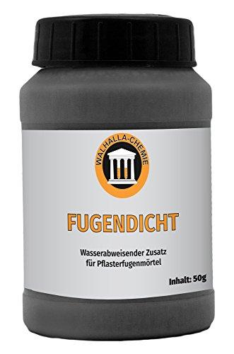 Fugendicht für Walhalla Pflasterfugenmörtel (50 g) - Wasserabweisendes Additiv