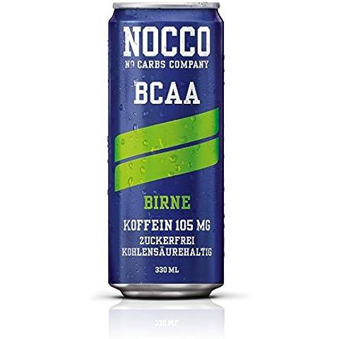 Nocco BCAA Drink con deposito–Fragranza pera–No Carbs