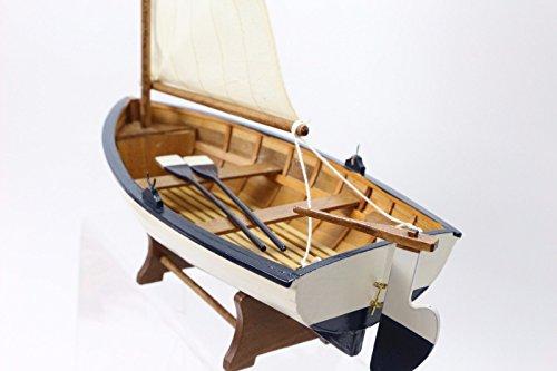 Canot bretone cm 32x41 barca mockup navale naútica modellismo legno