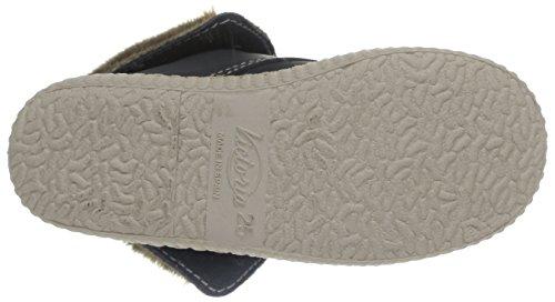 Victoria Safari Alta Piel Tintada Pelo, Boots mixte enfant Gris (Coraza)