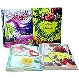 efforwave Plastic Photo Album (10 x 10 x 10 cm, Multicolour)
