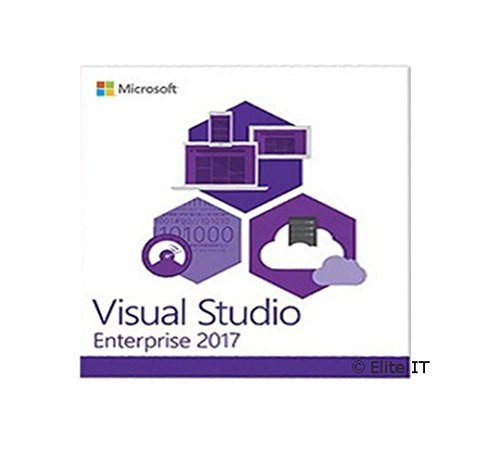Microsoft Visual Studio 2017 Enterprise 1 User License (EN) Visual Studio 2010 Software