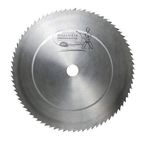 Chromvanadium Spitzzahn Sägeblatt - Ø 450 mm x 2,2 mm x 30 mm; 80 Zähne; vanadiumgehärtet für feine Holzschnitte (450 x 2,2 x 30 mm)
